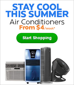 Stay Cool This Summer - Air conditioners from $4/week*!