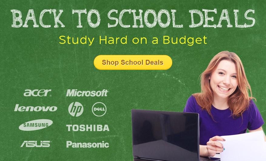 Back to School Deals at FlexShopper