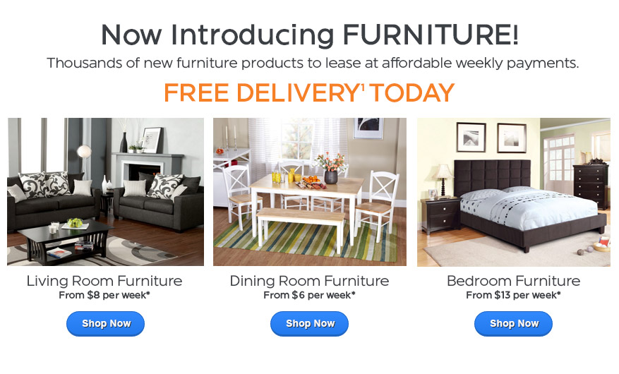 Lease your favorite furniture products … from anywhere!